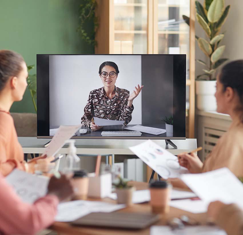 online business meeting
